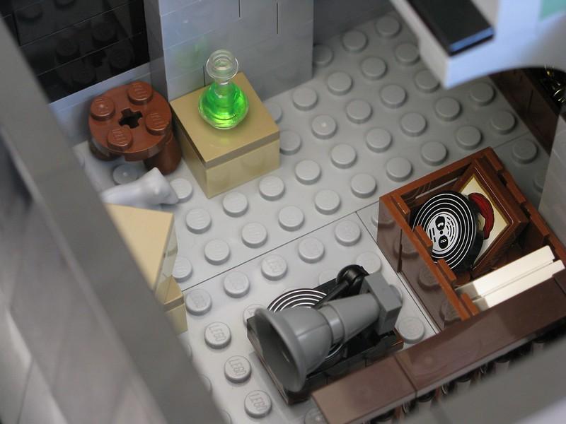 Modified Haunted House - Attic