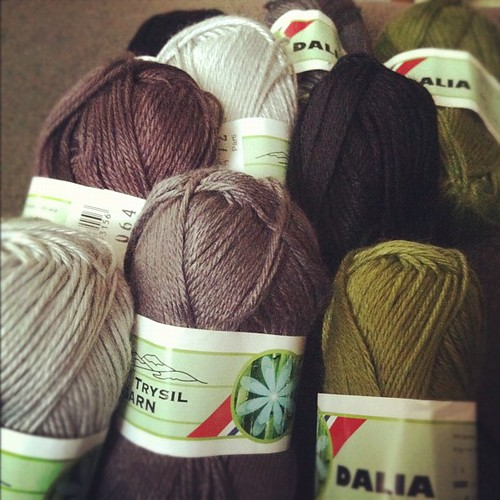New #crochet #blanket start. #yarn