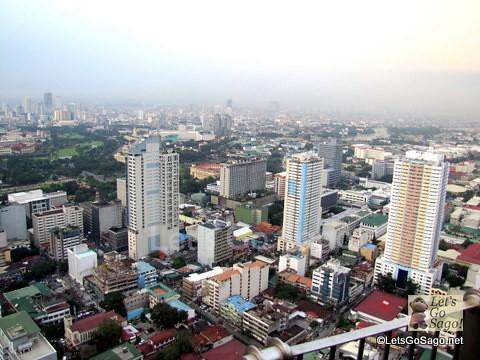 Manila City opposite Manila Bay