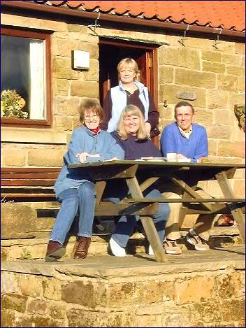 Sandy Bex Paul Jean, Cottage at RosedaleAbbey