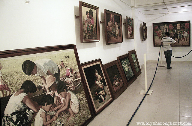 paintings in blanco family museum