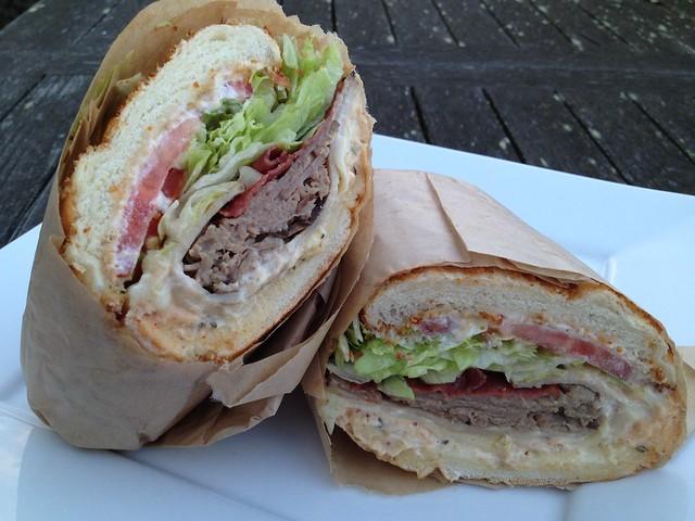 Matt Cain sandwich - Ike's Place