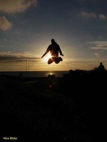 Port Eynon Jump
