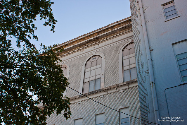 Abandoned Union Bankers Building - AKA The Knights of Pythias Temple