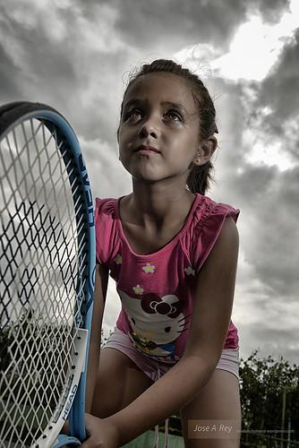 Strobist at Tennis court...Havana by Rey Cuba