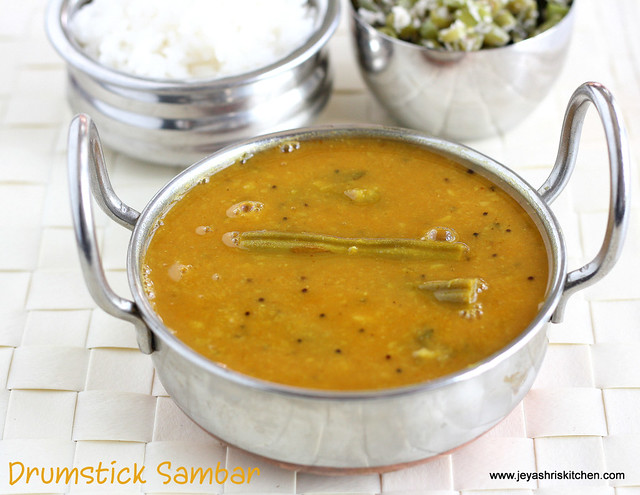 Drumstick sambar 2
