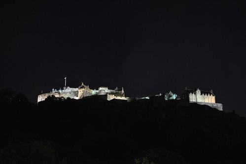 Edinburgh - Night Castle