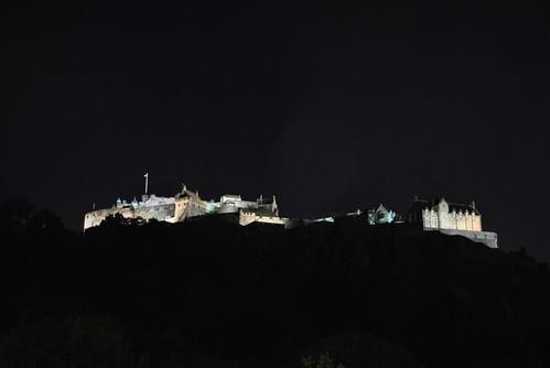 Edinburgh - Night Castle