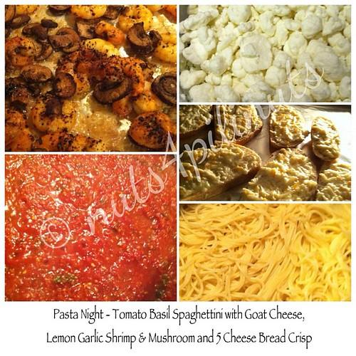 it's pasta night! #pasta #pastanight #homemade