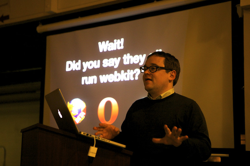Wait! Did you say they all run Webkit?
