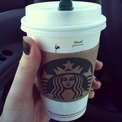 Much needed Starbuck's