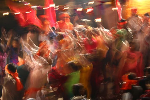 Bolywood dancing