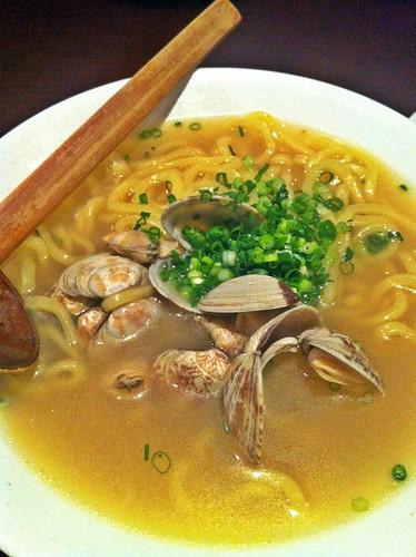 clam ramen