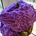 One Hour Knitted Scarf