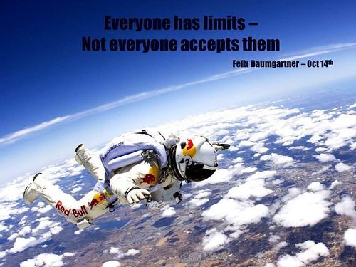 Felix Baumgartner Limits