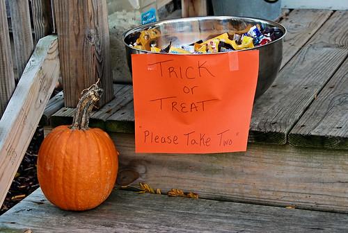 Trick or Treating in My Neighborhood