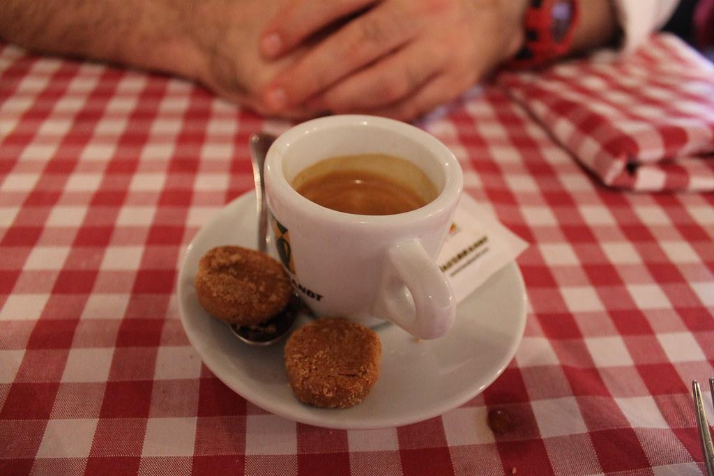 Café en Osteria Il Bocconcino