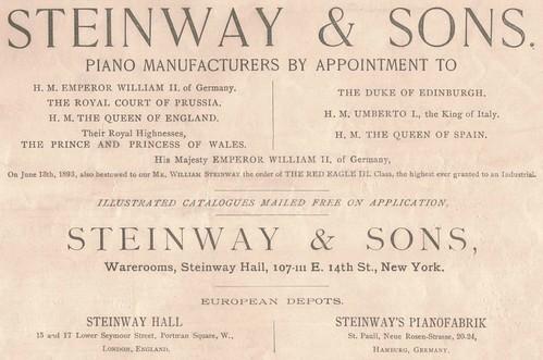 1894 Advertisement.