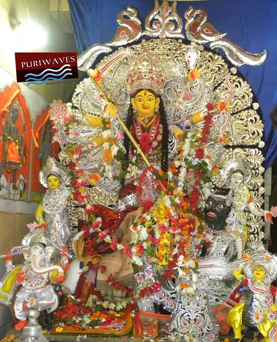 Maa Kakudikhai is the representive Gosanis Of Goddess Bimala, outstside of Temple