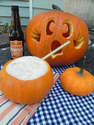 Pumpkin Ale Float