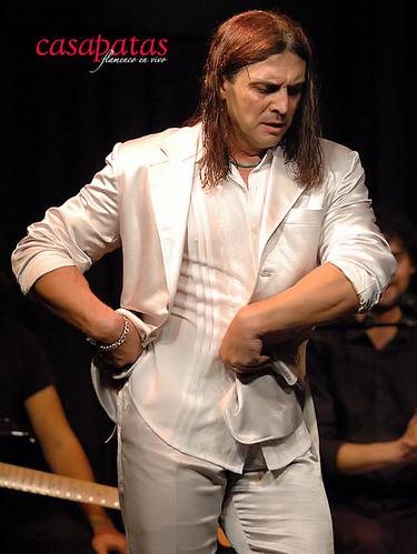 Domingo Ortega bailará en Casa Patas. Foto: Martín Guerrero