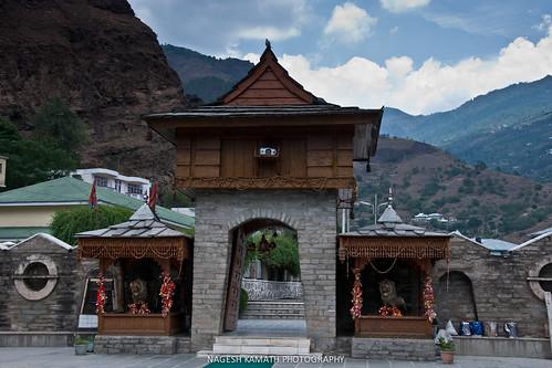Hatkoti Temple Complex Entrance