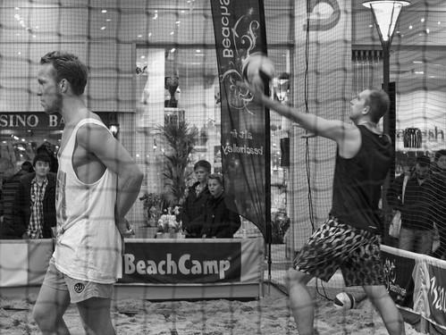 303/366 - Indoor beach volleyball by Flubie