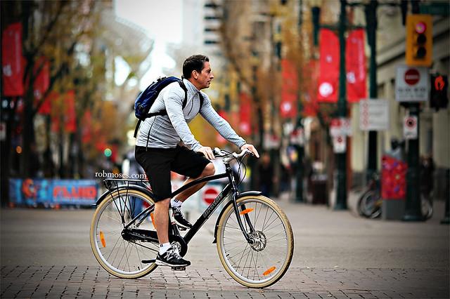 Biker Calgary