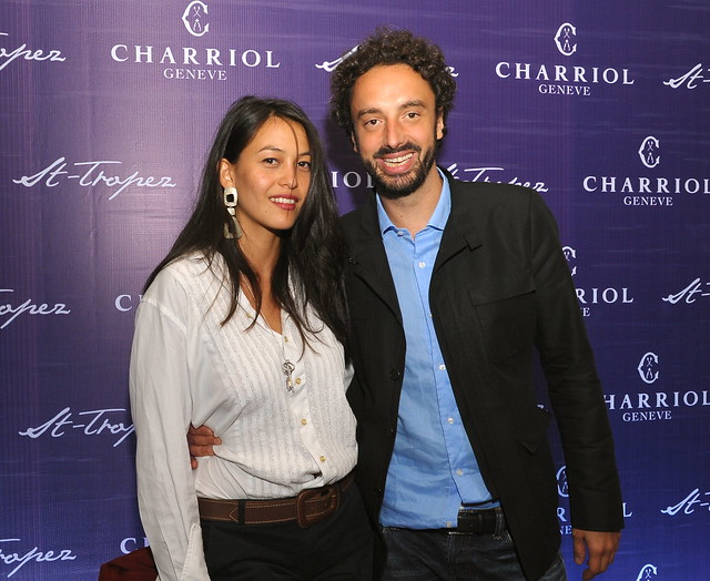 Alexandre Charriol with Paloma