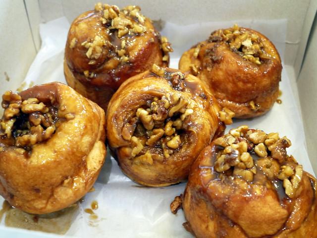 Wildflour's sticky buns P130