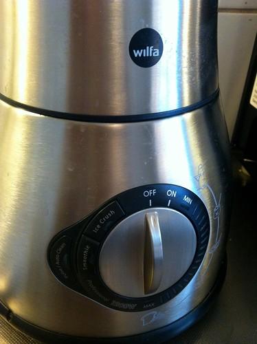 Wilfa mixer