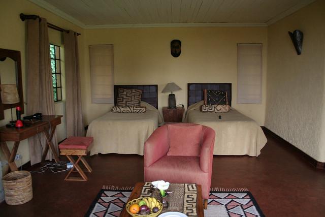 room at Sabyinyo