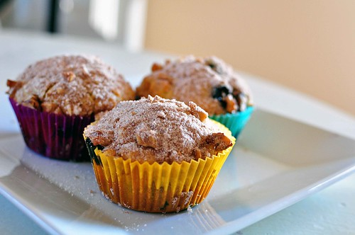 Orange Blueberry Muffins 1