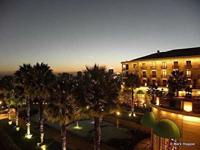 The Sheraton Hotel Addis Ababa by night