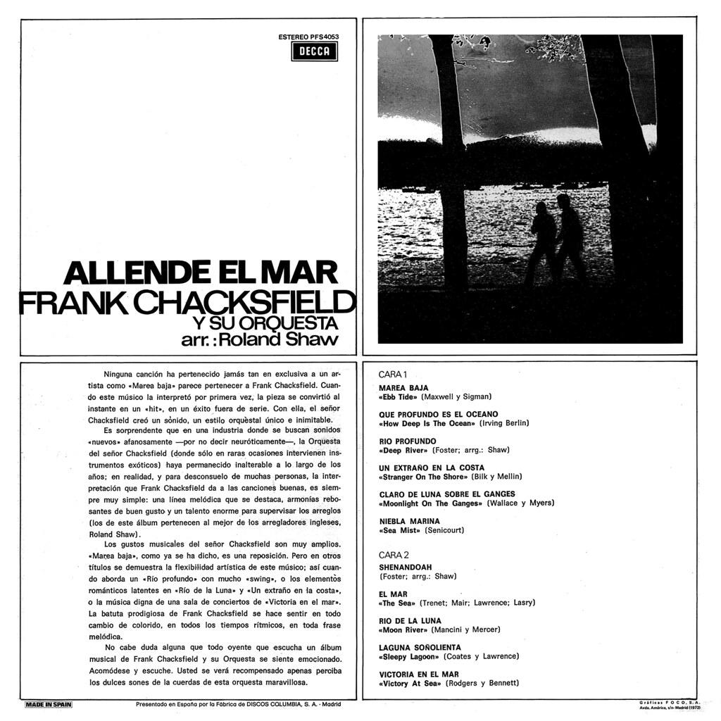 Frank Chacksfield - Allende el mar