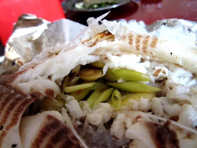 Salt-baked fish 4