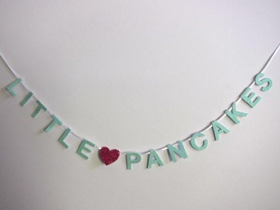 Little Pancakes Mini Banner