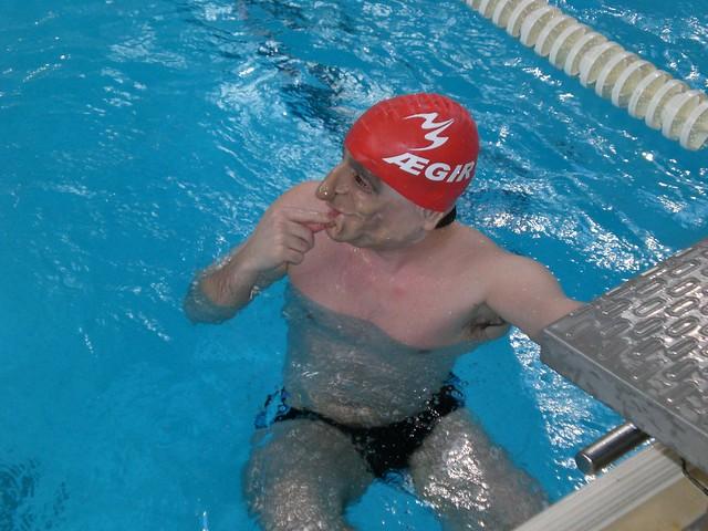 A troll in the pool