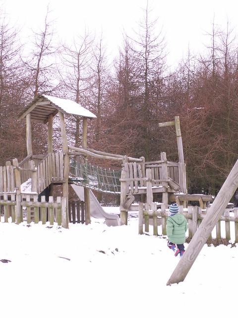 Rosliston - play area