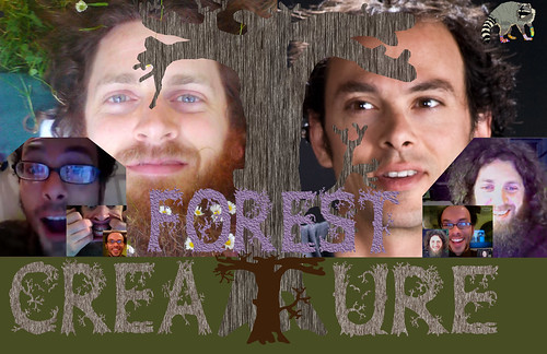 Seth Faergolzia and John Ludington - Forest Creature in Europe 2013 photo