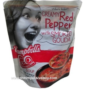 Campbell's Go Soup Creamy Red Pepper with Smoked Gouda - 2