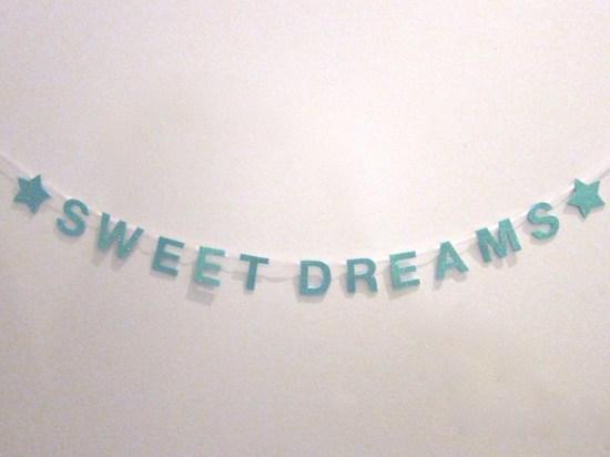 Sweet Dreams Mini Banner