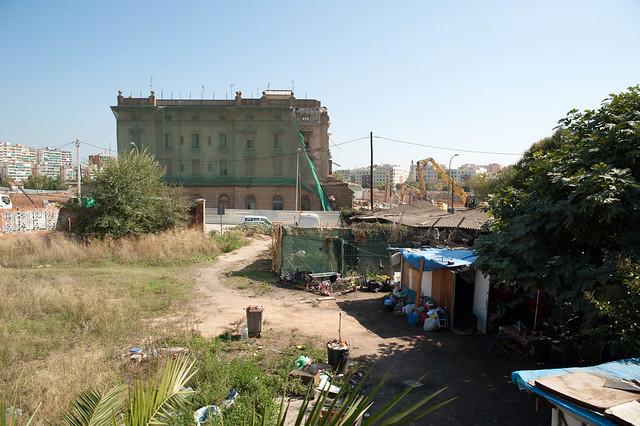 Demolicion edificio ferroviarios junto PIAC_1