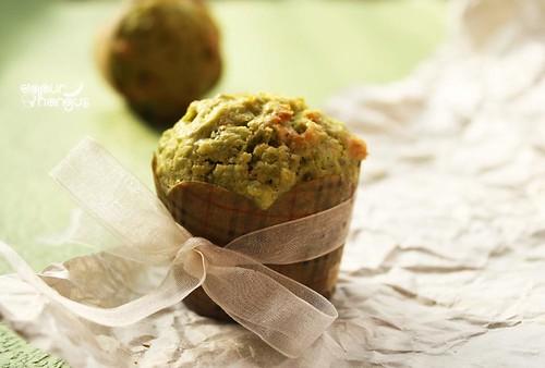 mufin teh hijau
