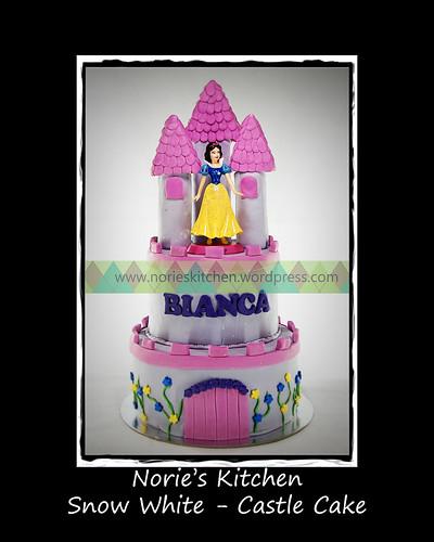 Norie's Kitchen - Snow White Castle Cake by Norie's Kitchen