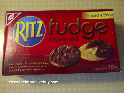 Limited Edition Fudge Covered Ritz (Canada)