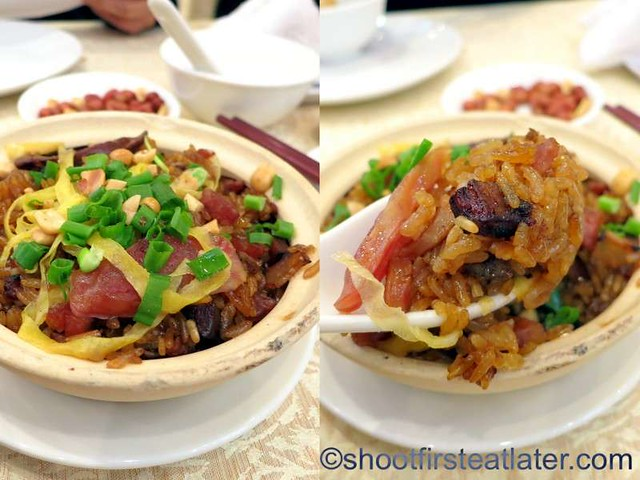 fried glutinous rice with Chinese sausage HK$28