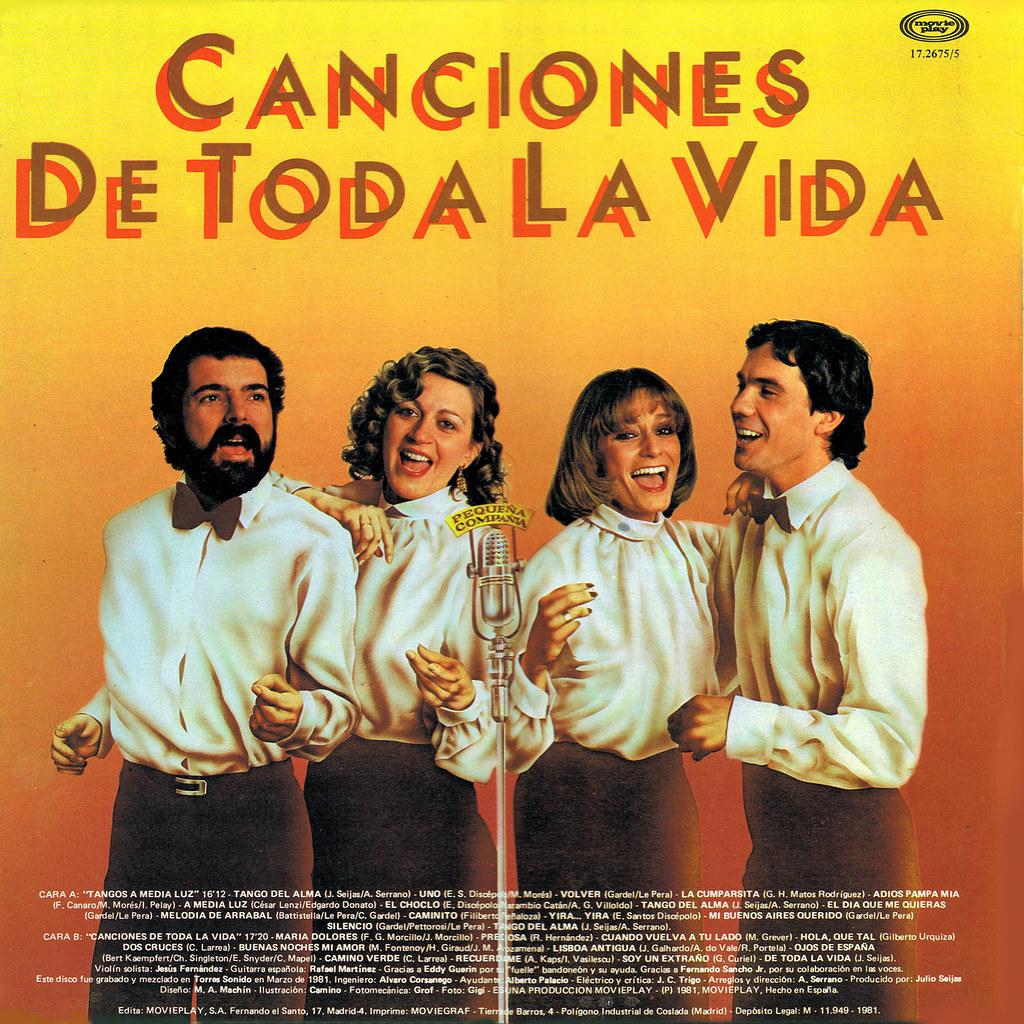 Pequeña Compañia - Tangos y Canciones