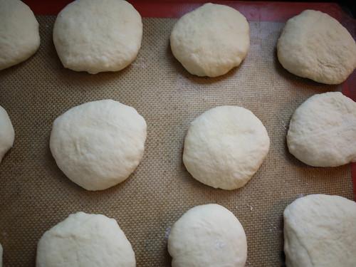 Pita Bread - Resting