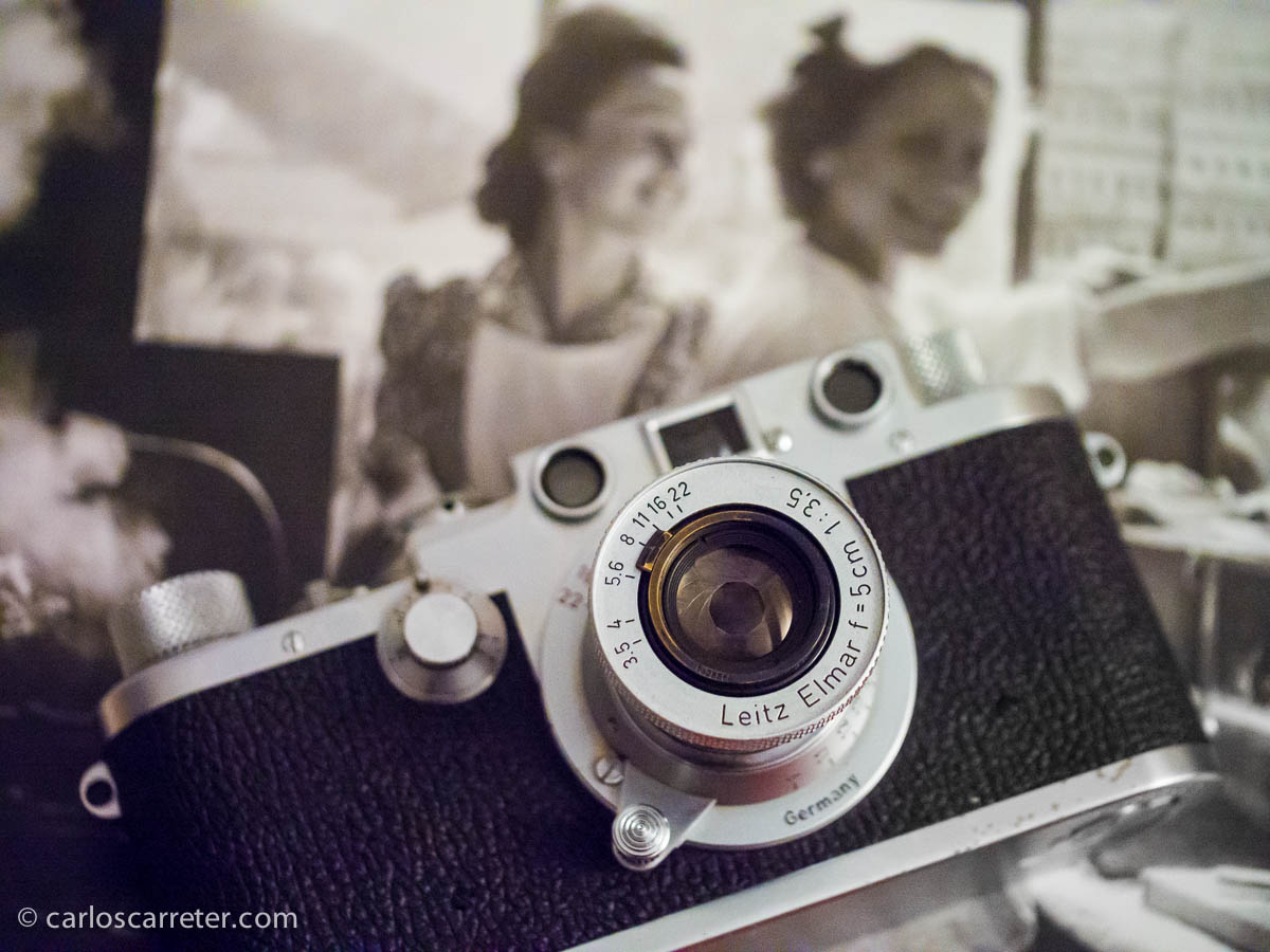Leica IIIf c/ Leitz Elmar 5cm 1:3,5